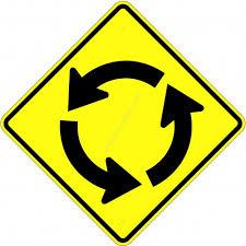 Warnning Road Sign