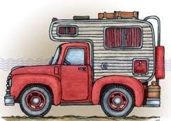 Caravan Clip Art 10